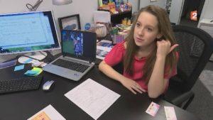 Patronne à 11 ans : Alina est déjà Millionnaire aux USA !
