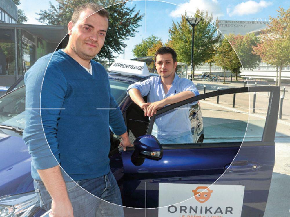 ornikar permis de conduire auto école